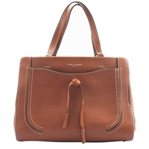 Marc Jacobs Maverick Brown Leather Tote (146292)
